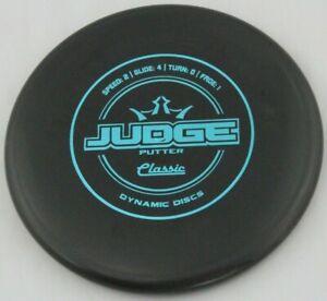 NEW Classic Hard Judge 175g Black Putter Dynamic Golf Discs at Celestial