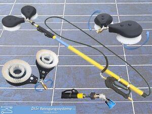 PV Photovoltaik Reinigung 2er Waschbürste rotierend Teleskoplanze 3,1m Kärcher