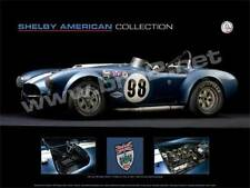 """SIGNED! Shelby Museum poster Cobra Roadster (18""""x24"""") sold by BRE"""