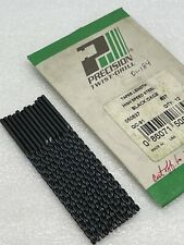 37 1040 Ptd Usa Wire Gage Number Drill Bits Taper Length Hss Lot Of 12