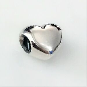 NEW AUTHENTIC PANDORA Charm Bead 790137 Heart Sterling Silver $35