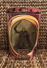 New ToyBiz Lord of the Rings King Theoden Figure Sword Attack Action Two Towers