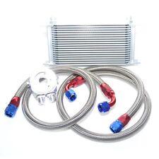 Universal Zusatz Ölkühler Set 19 Reihen inkl. Anschluss-Set