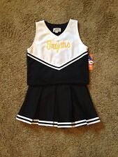 Size 12 Trojans Cheerleader Sports Wear Dress Up Costume Uniform NWT !