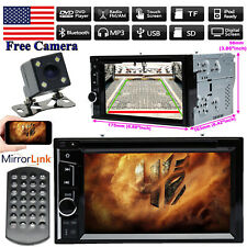 For 2005-2006 Nissan Altima 2Din Car Stereo DVD Radio Player Mirrors GPS &Camera