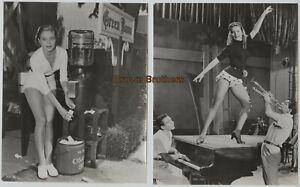 Vintage 1950s Hollywood Patrice Wymore Wife Errol Flynn Dance Photos #2 (2)