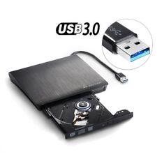 Salcar USB 3.0 Slim Externer Laufwerk DVD RW Brenner Laufwerk 9,5mm für Laptop