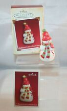 Hallmark Keepsake Ornament - 2005 - A Happy Little Snowman - in original box