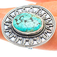 Tibetan Turquoise 925 Sterling Silver Ring Size 9 Ana Co Jewelry R58928F