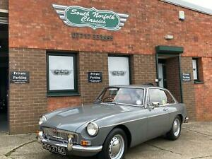 1966 MGB GT , Grampian Grey, Red leather, overdrive