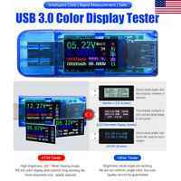 USB Current Voltage Tester Doctor Charger Capacity Power Bank Meter Ammeter Tool