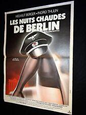 LES NUITS CHAUDES DE BERLIN  ! tinto brass affiche cinema   landi