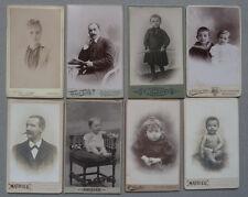 Lot de 48 Photos Carte de Visite Cdv Marseille Vers 1860/90