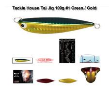 TACKLE HOUSE Tai Jig 100g / 80mm #1/ 1 x pk DECOY DJ-88 /1/0 assist hooks as pic
