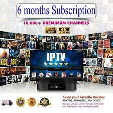 IP TV 6 Months Best Subscription All App's - Android Smart TV Adult Channels ON