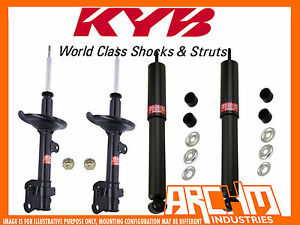 FRONT & REAR KYB SHOCK ABSORBERS FOR HONDA CR-V 12/2001-01/2007