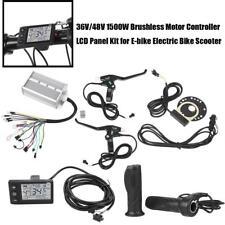 1500W 36/48V Brushless Motore Controller Freno Elettrico Bici E-Bike Scooter Kit