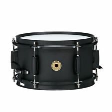 "TAMA Metalworks 5.5x10"" Steel Snare Drum with Matte Black Shell Hardware"