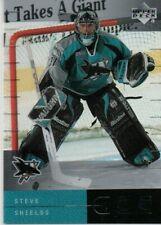 2000-01 Upper Deck Ice #33 Steve Shields San Jose Sharks (19-1052)