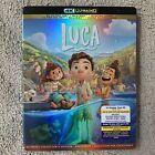 "Luca  Disney/ Pixar (4K Ultra HD + Blu-ray + Digital, 2021)  ""New"" ""Sealed"""