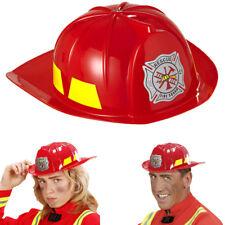 Kostüm Zubehör Kinder Feuerwehrhelm mit Visier Karneval THE