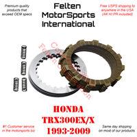 Honda TRX300EX Clutch Kit Set Discs Disks Plates Springs Gasket TRX 300EX 93-99