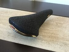 Italy San Marco Rolls Limited Special Edition Black Rino Leather Race Saddle