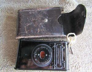 Vintage Kodak Vest Pocket Autographic Camera & Case
