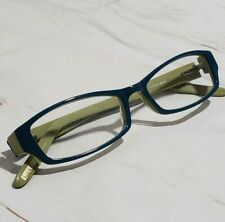 Nicole Miller Eyewear Plastic Frames 51 16 140 mm  Teal and Lime