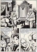 NICK CARTER  LA POUPEE CHINOISE (ALCAZAR) SUPERBE PLANCHE AREDIT PAGE 92