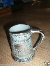 Stangl  Colonial Silver Mug  Cup Hand painted