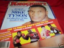 Knockout Boxing Magazine Spring 1988 Mike Tyson