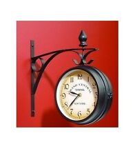 Brand New Grand central terminal New York Double sided Vintage style Wall clock