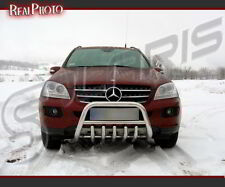 MERCEDES ML 2006-2011, BULL BAR, NUDGE BAR, A BAR + GRATIS!!! STAINLESS STEEL