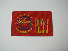 Jillians Dufunct Player Card Covington Ky Cincinnati Ohio Casino Game Logo Card