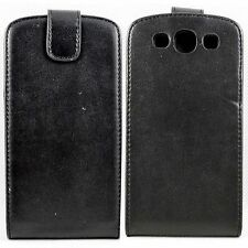 Black Flip Leather Holster Cover Pouch Case For Samsung Galaxy S3 SIII i9300