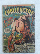 Challengers of the Unknown #60 (Feb-Mar 1968, DC) Good