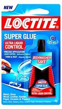 4g LOCTITE Super Glue Ultra Control Dishwasher Safe Clear Fast Adhesive 1647358
