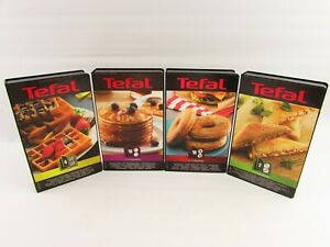 Tefal Snack Collection Waffle Bagel Pancake Toastie Maker Toast Non Stick Plates