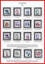 MICRONESIA 1984/88 DEFINITIVES / EXPLORERS mnh SHIPS, MONEY FACE VALUE ~$22.00