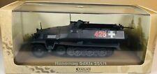 ATLAS GERMAN HANOMAG SdKfz 251/1 HALFTRACK DIECAST TANK MODEL