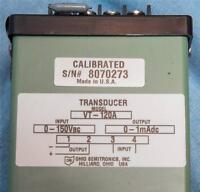 Davis 0-150 Vac 0-1mAdc VT-120A Transducer dq