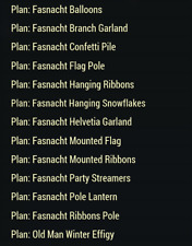 Fallout 76 (PC) Fasnacht Plans Camp Bundle [Event Plans]