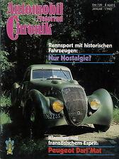 Automobil Motorrad Chronik 1/82 1982 Auwärter Omnibus Neoplan Harley Davidson JD