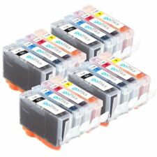 16 Ink Cartridges for Canon PIXMA iX5000 iP5100 MP600 MP830 iP5200R MP600R