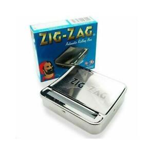 2 X Automatic Cigarette tabacco Roller maker machine smoker smoking 70mm ZIG ZAG