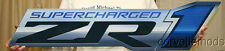 Corvette Metal Sign 2009-2013 ZR1 Supercharged