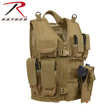 Rothco 5293 Kid's Tactical Cross Draw Vest - Coyote Brown