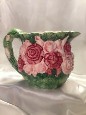 1987 The Haldon Group Rose Pitcher Made In Japan