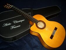 SALE!  FROM FRANCE BEAUTIFUL J. MARCARIO LEFT HAND FLAMENCO GUITAR, WITH CEQ, LH